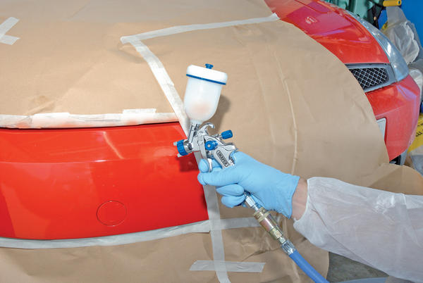 Draper 9708 GSG5-100 100Ml Gravity Feed Hvlp Air Spray Gun Thumbnail 3