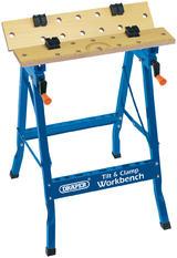 Draper 09951 WBTT600Y 600mm Tilt and Clamp Fold Down Workbench