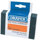 Draper 10106 SP100FM Fine - Medium Grit Flexible Sanding Sponge