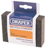 Draper 10109 SP100MC Medium - Coarse Grit Flexible Sanding Sponge