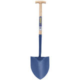 Draper 10875 RMSSSTH/H Solid Forged Round Mouth T-Handle Shovel with Ash Shaft