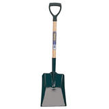 Draper 10904 BS/PYD Square Mouth Builders Shovel with Hardwood Shaft