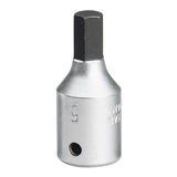"""Elora 11126 1455-IN 5mm Hex Key Socket 1/4"""" Drive"""