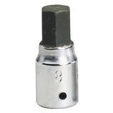 """Elora 11128 1455-IN 8mm Hex Key Socket 1/4"""" Drive"""