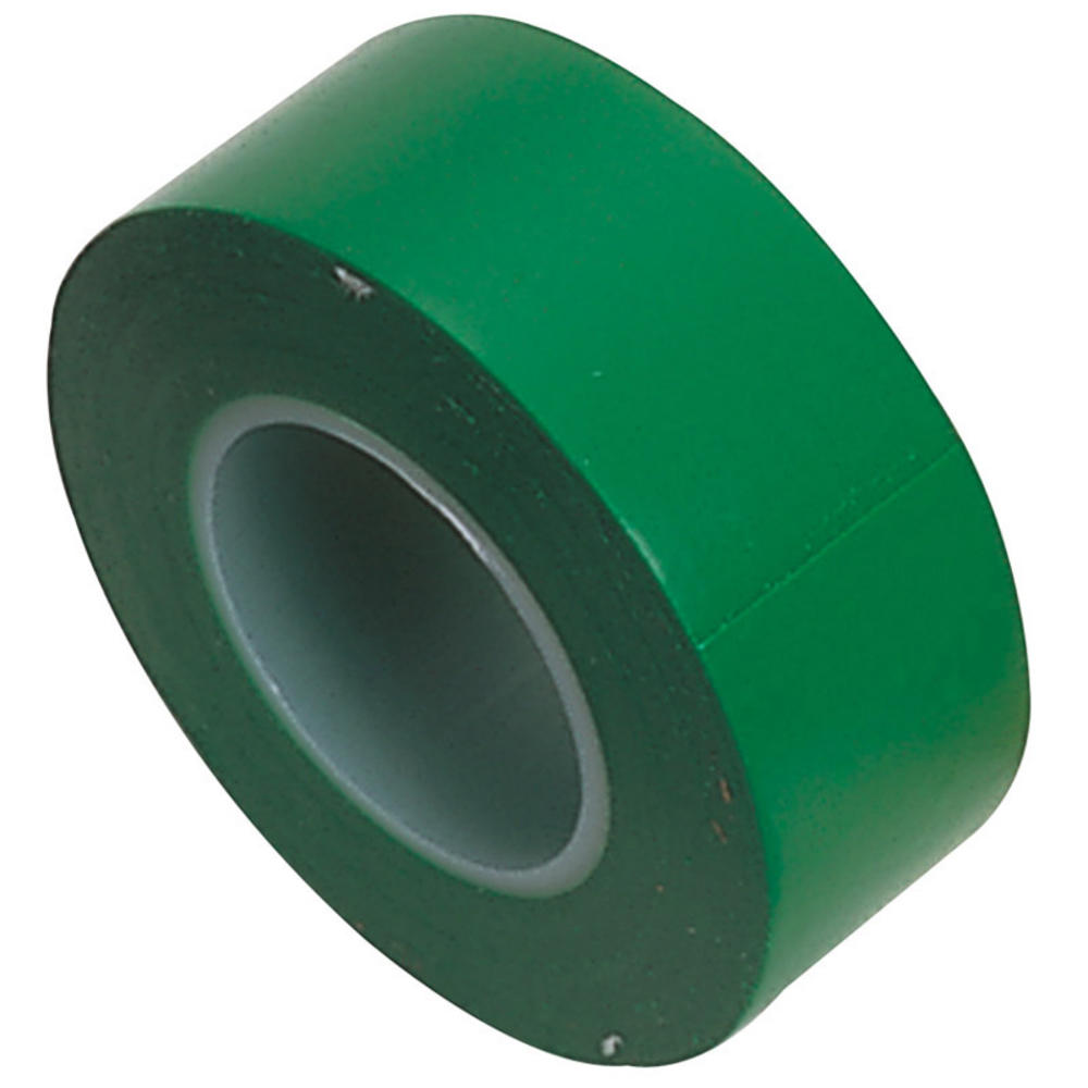 Draper 11914 619 Expert 8 x 10M x 19mm Green Insulation Tape to BSEN60454/Type2
