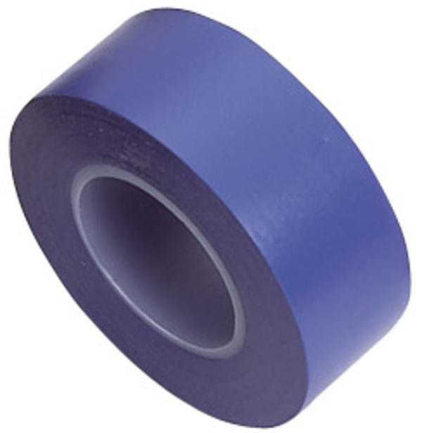 Draper 11915 619 Expert 8 x 10M x 19mm Blue Insulation Tape to BSEN60454/Type2 Thumbnail 1