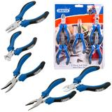 Draper 12544 MPSG5 5 Piece Soft Grip Mini Pliers Set