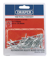 Draper 14009 RIV 50 x 4mm x 10mm Blind Rivets