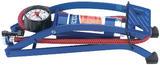 Draper 14172 4430 Single Cylinder Foot Pump with Pressure Gauge