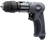 Draper 14258 5276K/PRO Expert Composite Body Soft Grip Reversible Air Drill with 10mm Keyless Chuck