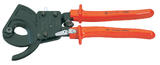 Knipex 18555 95 31 250 Knipex 250mm Ratchet Action Cable Cutter