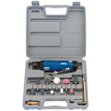Draper 20556 4217K 15 Piece Air Die Grinder Kit