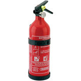Draper 22185 FIRE1B 1kg Dry Powder Fire Extinguisher
