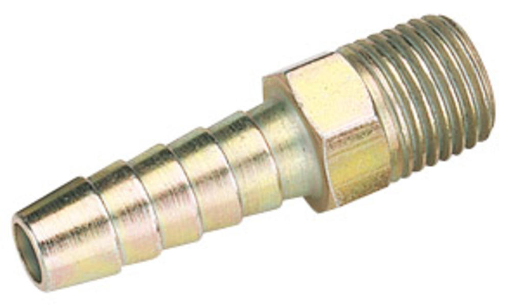 Draper 25799 A1206 BULK 1/4 BSP Taper 5/16 Bore Pcl Male Screw Tail