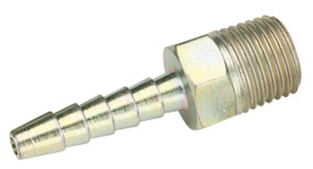 Draper 25800 A1205 BULK 1/4 BSP Taper 3/16 Bore Pcl Male Screw Tail