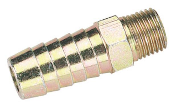 Draper 25802 A2479 BULK 1/4 BSP Taper 1/2 Bore Pcl Male Screw Tailp Thumbnail 1