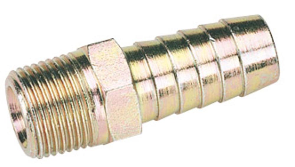 Draper 25821 A2808 BULK 3/8 Taper 1/2 Bore Pcl Male Screw Tailpiece
