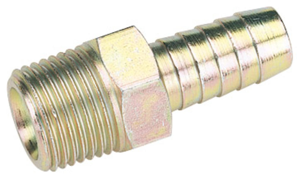 Draper 25822 A2954 BULK 1/2 Taper 1/2 Bore Pcl Male Screw Tailpiece