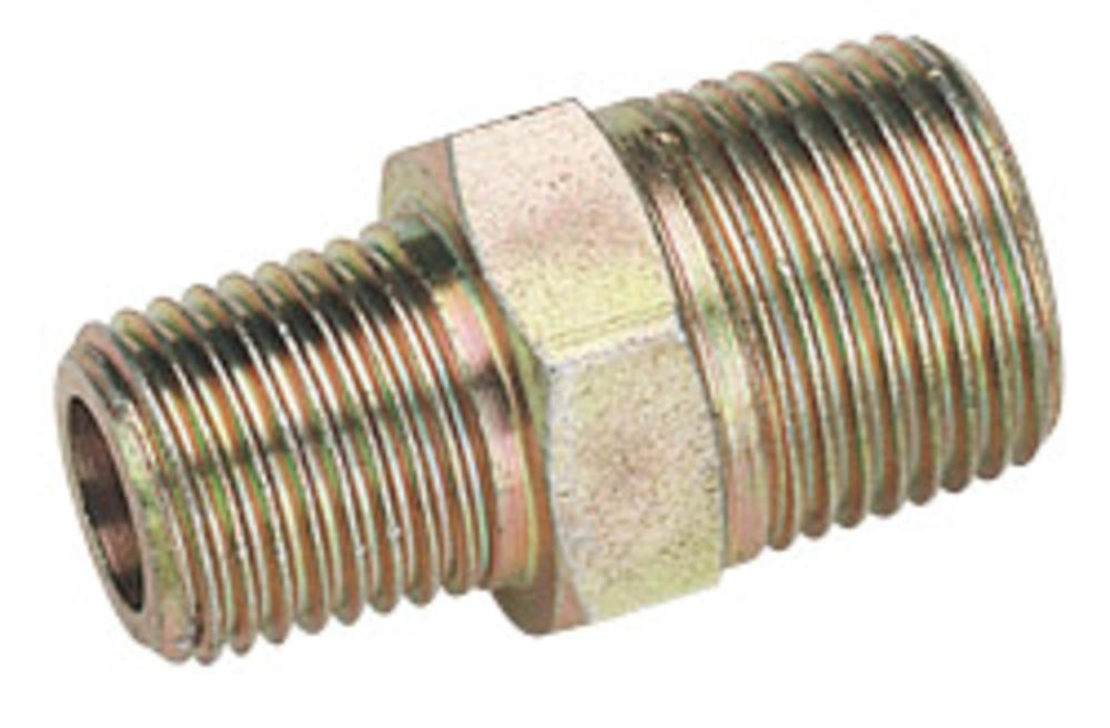 Draper 25826 A6899 BULK 3/8 Male To 1/4 BSP Male Taper Reducing Union
