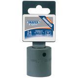 Draper 28545 410MM 24mm 1/2 Square Drive Impact Socket
