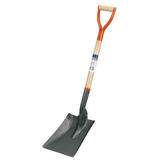 Draper 31391 BS Hardwood Shafted Square Mouth Builders Shovel