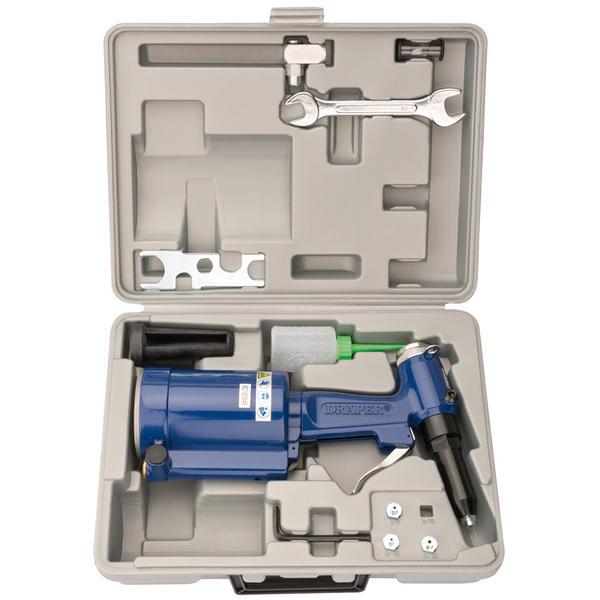 Draper 33746 4296K Air Riveter Kit in Case Thumbnail 1
