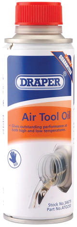 Draper 34679 ATO250 250Ml Air Tool Oil