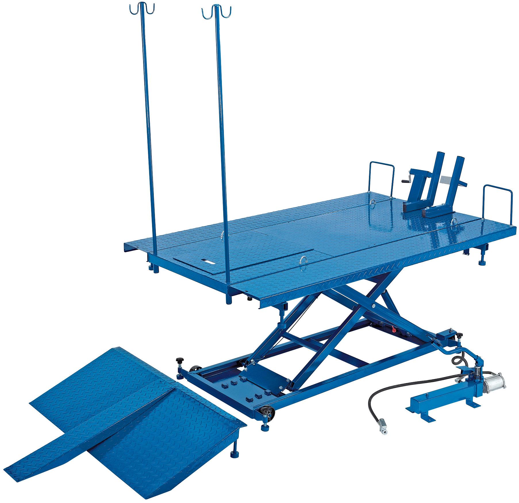 Atv Lift Draper 37190 Mcl4 680kg Pneumatic Hydraulic