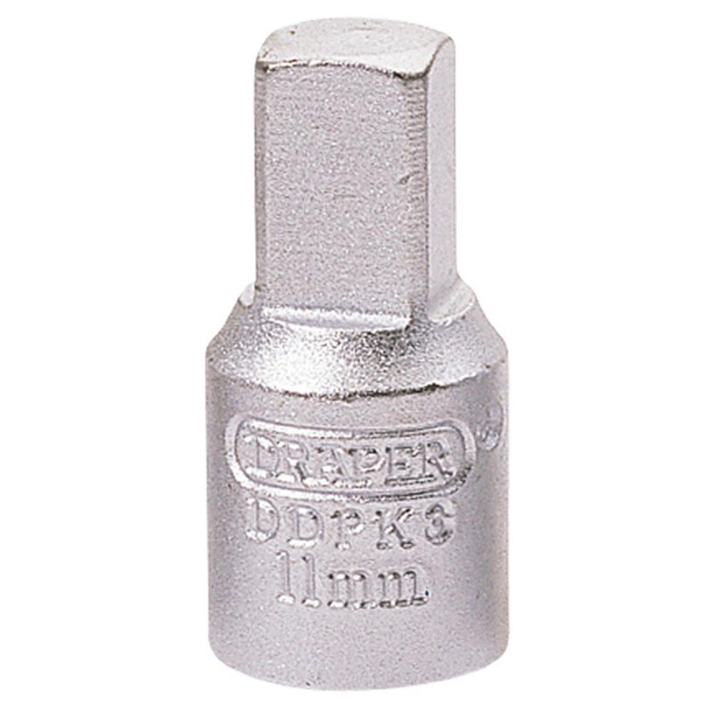 Draper 38322 DDPK3 11mm Square 3/8 Square Drive Drain Plug Key