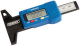 Draper 39590 TG1 Digital Tyre Tread Depth Gauge With Plastic Body