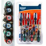 Draper 40005 980/6 Expert 6 Piece 'Pound Thru' Screwdriver Set