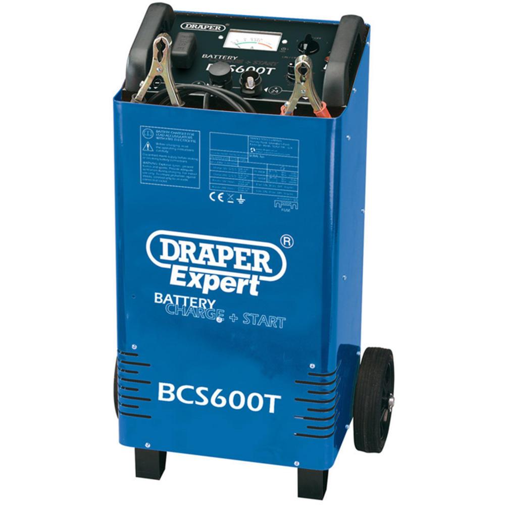 Draper 40181 BCS600T Expert 12V/24V 500A Battery Starter/Charger