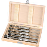 Draper 40406 AWM/5 5 Piece Hollow Square Mortice Chisel & Bit Set