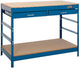 Draper 40940 WB1220 Steel Workbench with Two Drawers