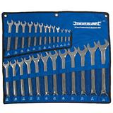 Pro Quality 25Pce Metric Combination Spanner Set 6-32mm