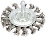 Draper 41434 349P 75mm Twisted Wire Wheel