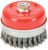 Draper 41450 CB100TP 100mm x M14 Twist Knot Wire Cup Brush