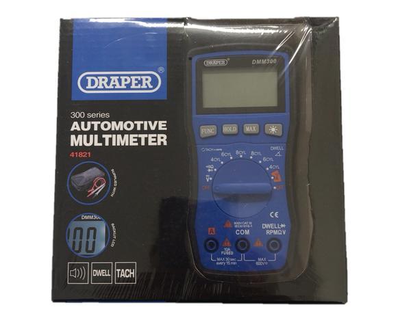 Draper 41821 DMM300 Automotive Digital Multimeter Thumbnail 2