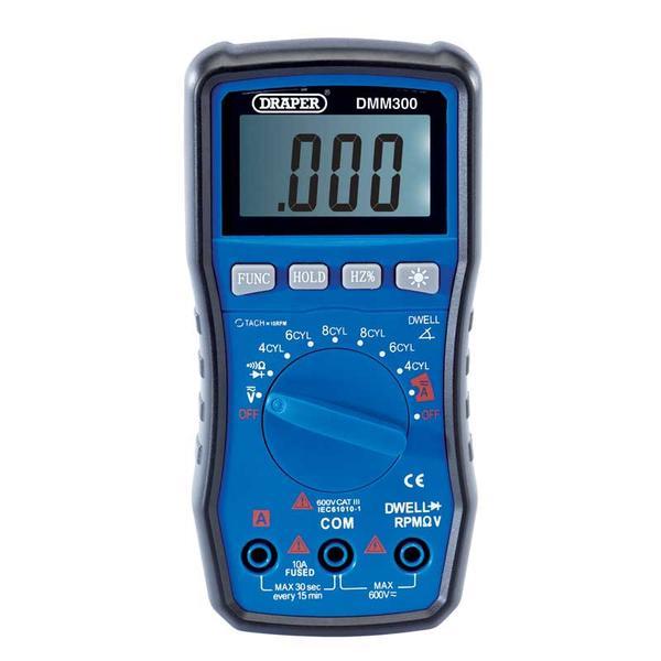 Draper 41821 DMM300 Automotive Digital Multimeter Thumbnail 1
