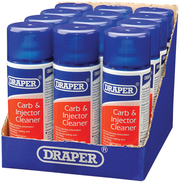 Draper 41922 ARE-CCL/A 400Ml Carburettor And Injector Cleaner Thumbnail 2