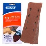 Draper 42621 APT116 90 x 187mm Assorted Grit Aluminium Oxide Sanding