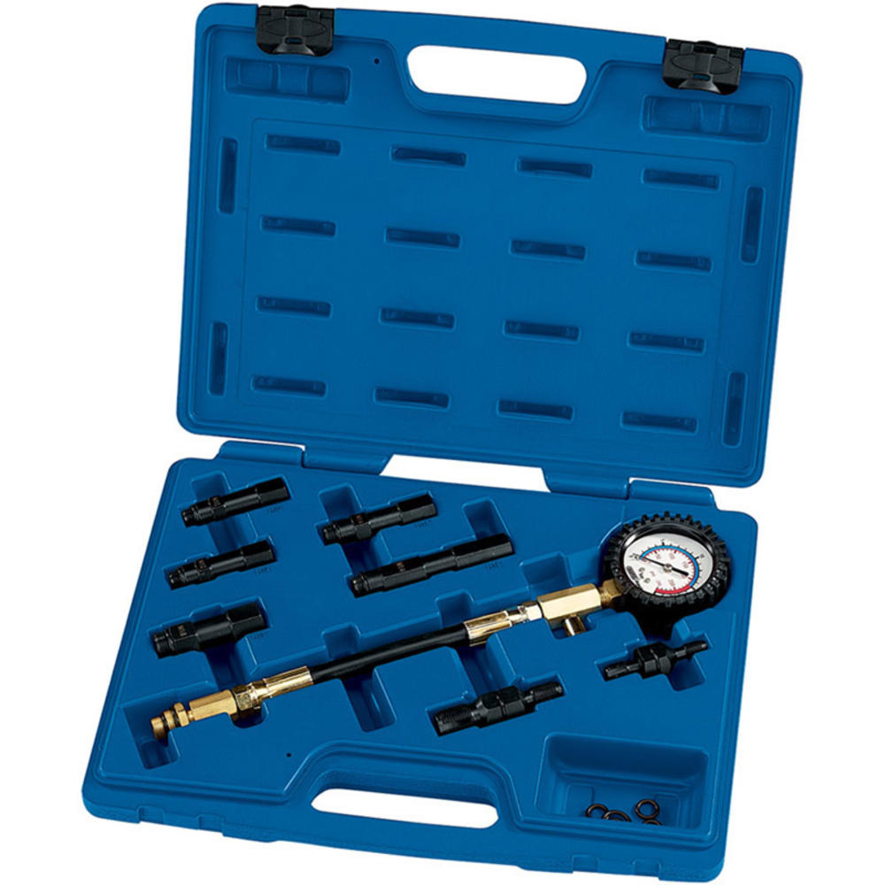 Draper 43051 PCT1 Expert 8 Piece Petrol Engine Compression Test Kit