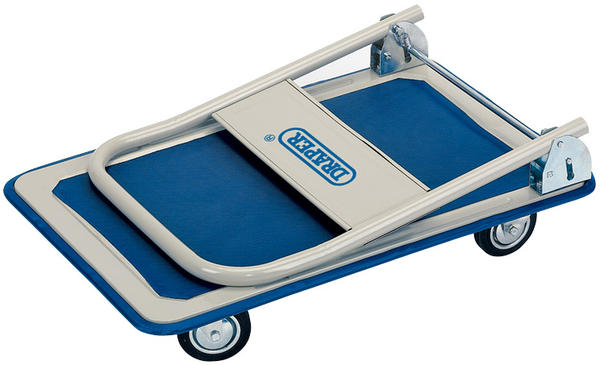 Draper 44005 FRT 150kg Platform Trolley with Folding Handle - 630 x 480 x 850mm Thumbnail 2