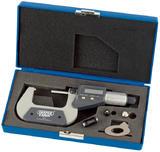 "Draper 46600 DEM Expert Dual Reading Digital External Micrometer - 25-50mm/1-2"""
