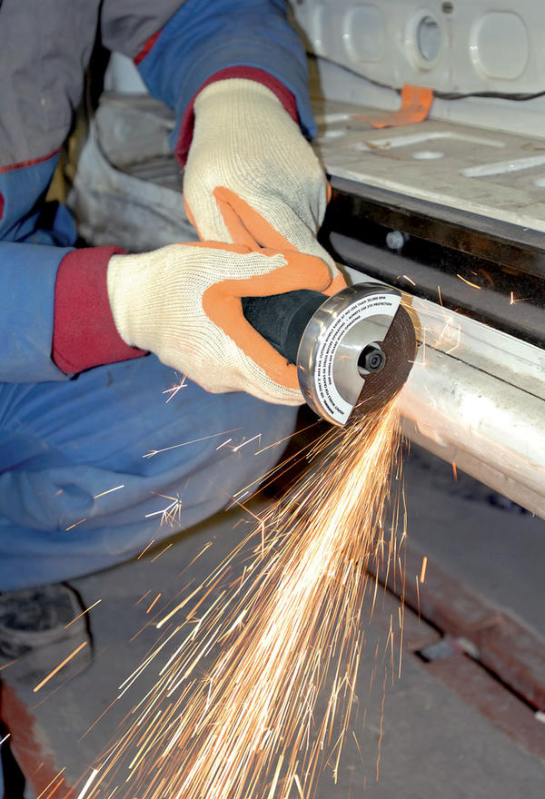 Draper 47569 5226PRO Expert Soft Grip 75mm Soft Grip Reversible Air Cut-Off Tool Thumbnail 2