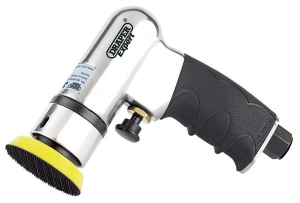 Draper 47617 5229PRO Expert 50/75mm Compact Dual Action Soft Grip Air Sander Kit Thumbnail 4