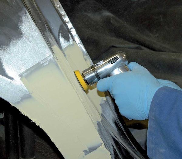 Draper 47617 5229PRO Expert 50/75mm Compact Dual Action Soft Grip Air Sander Kit Thumbnail 3