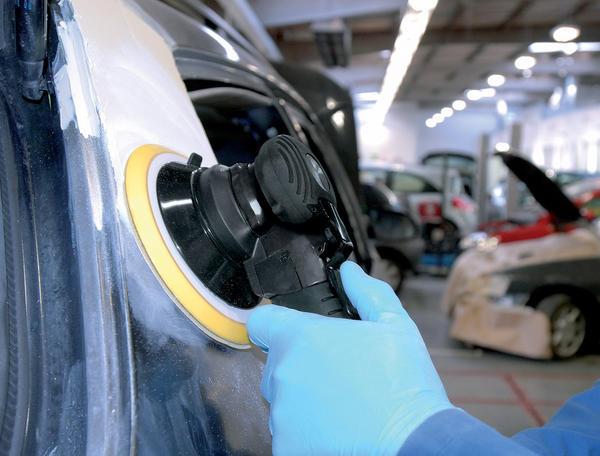 Draper 47622 5231PRO Expert 150mm Composite Body Dual Action Soft Grip Air Sander Thumbnail 2