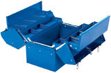Draper 48566 TB459B Barn Type Tool Box With 4 Cantilever Trays