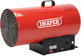 Draper 49166 PSH301 Jet Force, 110/230V Propane Space Heater - 235,424 BTU (69Kw)